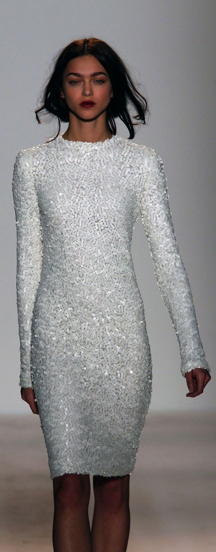 Birdcagewalk Wgsn We Want This Gorgeous White Sequin Dress From Zoe