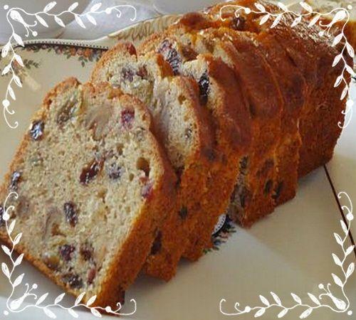 üzümlü bademli kek