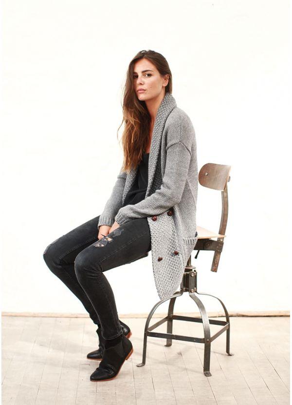 Knitted Vest, Sezane F13