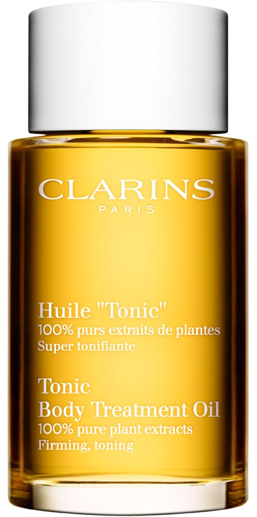 Clarins Body Treatment Oil Tonic. Ah.Maz.zing. You're soft for at least a week after using this once.