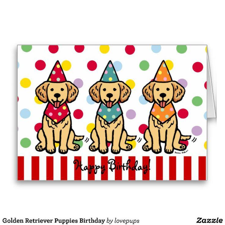 14 besten Golden Retriever Cartoons and Products Bilder auf ...