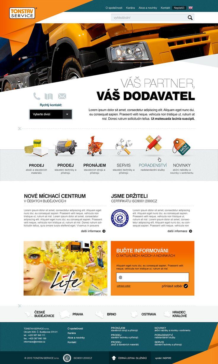 Tonstav #webdesign