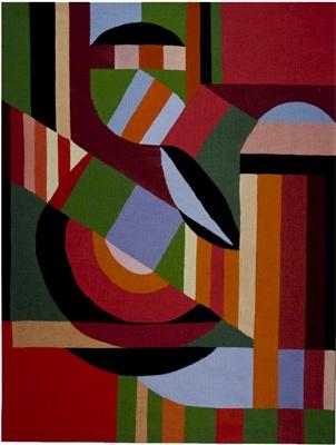Gunta Stölzl (German tapestry artist, 1897-1983)  [Bauhaus]