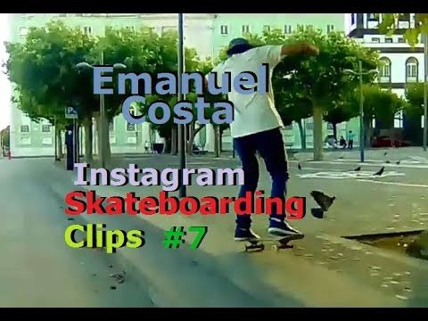 Emanuel Costa - Instagram Skateboarding Clips 7