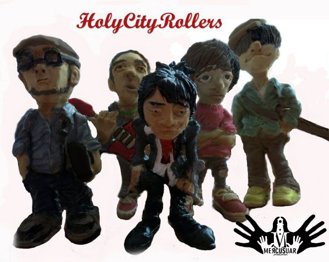 Holy City Rollers action figure