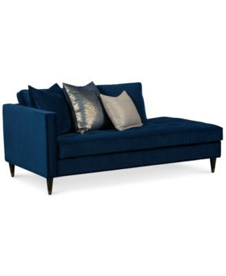 Suzette glam chaise only at macy 39 s home pinterest for Bernard chaise lounge