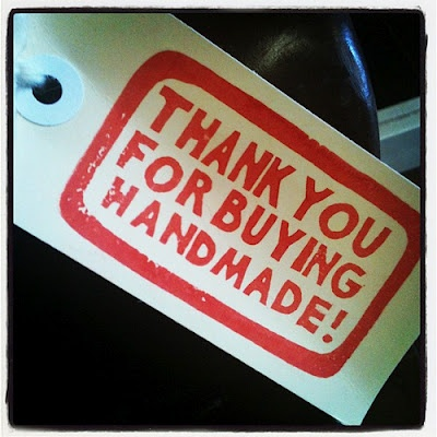 thank you for buying handmade....