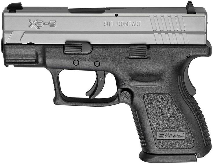 Springfield XD (X-treme Duty) are a series of semi-automatic pistol that are polymer-framed and striker-fired. Manufactured in the city of Karlovac, Croatia by HS Produkt (formerly I.M. Metal), the Springfield Armory XD, XDM, or XD-S is the marketing name for the weapon, which is licensed and sold in the United States by Springfield Armory, Inc. This Striker-fired pistol has a smooth trigger, and multiple safeties for duty carry sells for under $500.