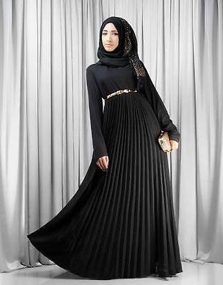 Islamic Abaya Burqa Jilbab Hijab Kaftan Satin Cloth beautiful belt Design-226 in Clothing, Shoes & Accessories, Women's Clothing, Dresses | eBay