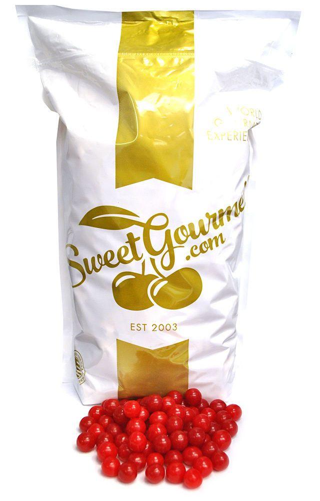 Sweetgourmet Ferrara Candy Jersey Sour Cherry Balls, 6Lb Free Shipping!