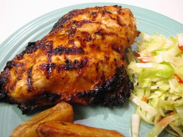 Spicy Cajun Marinade & Baste- This is a great spicy marinade for Chicken, Pork, Beef or Shrimp. - 1/2 cup olive oil 1/4 cup vinegar 3 garlic cloves, crushed 1 tablespoon onion powder 1 teaspoon oregano, hand crushed 1 teaspoon thyme 2 teaspoons seasoning salt 1 tablespoon cayenne pepper 2 teaspoons paprika 1 teaspoon black pepper 1 tablespoon horseradish 1/4-1/2 cup lime juice