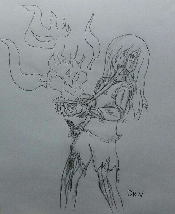 """Practicando poses de personaje, Sophie usando su ultimo recurso de magia. """"Mi cuerpo se debilita, pero aun mi alma puede luchar...""""[The Shield of the Three Kingdoms.]"""