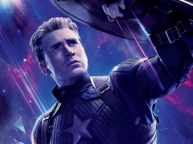 Download Captain America In Avengers Endgame Wallpaper Movies