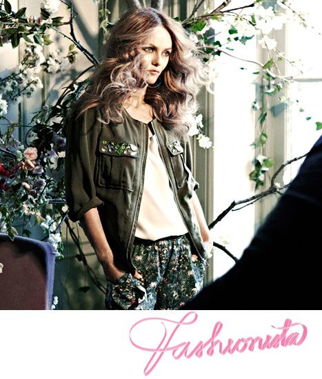 H has enlisted French actress/singer/deity Vanessa Paradis to model its latest Conscious collection