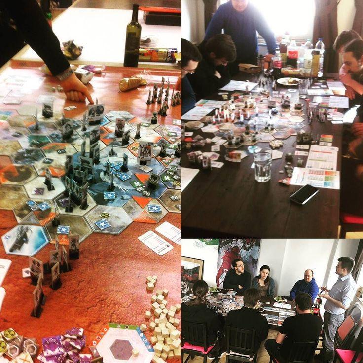 #playing #tsukuyumi is so much #fun! We #love #noluck #asymmetric #strategy #games - so here we go hoping you like it too! #bgg #soononkickstarter #kickstarter #geeksoninstagram #geek #boardgame #tabletop #brettspiel #spiel #strategiespiel #factions #nerdstuff #felixmertikat #illustrationartists #gamedesign