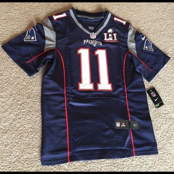 Other - Patriots Super Bowl 51 Football Jersey EDELMAN #11