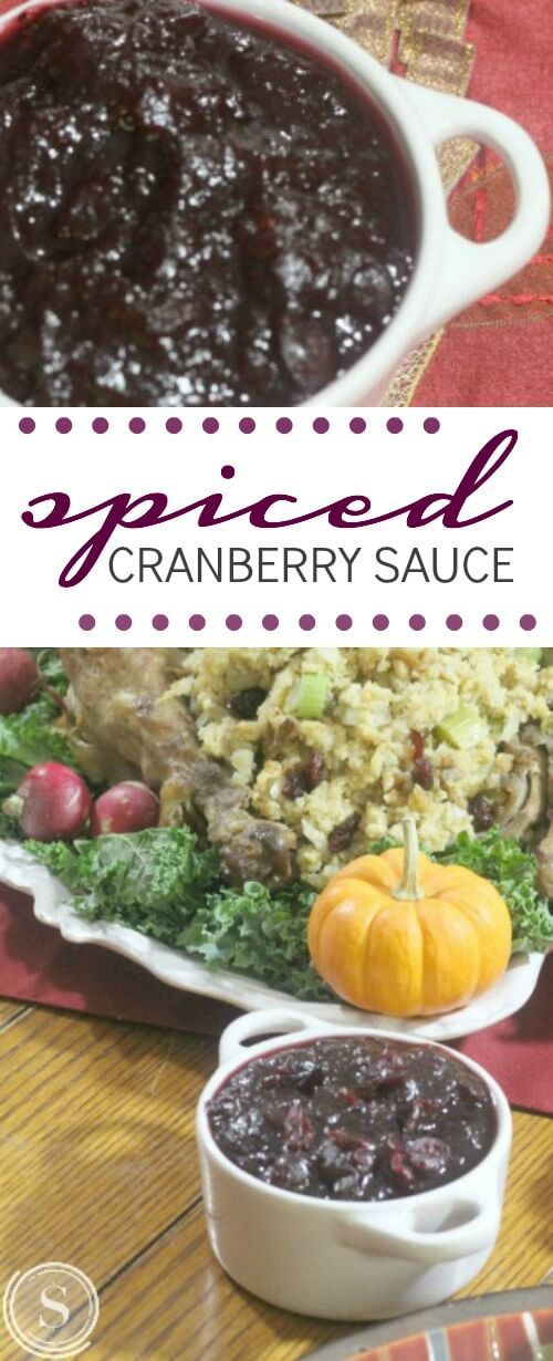 Spiced Cranberry Sauce Recipe for a Homemade Thanksgiving ...