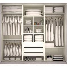 Aménagement armoire placard dressing