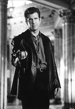 Mel Gibson in Payback with Gregg Henry, James Coburn, Kris Kristofferson, Lucy Lui, and Maria Bello.  I've loved LL ever since I saw her beat the bubblegum out ot Gregg Henry.