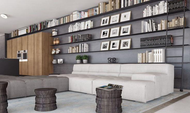Indoor Boulevard by Tal Goldsmith Fish Design Studio | HomeDSGN