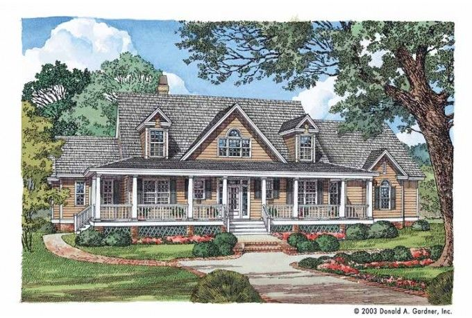 2 story house plans with wrap around porch javascript for House plans with dormers and front porch