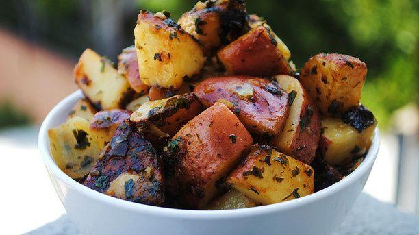 Easy Vegan Lemon Roasted Potatoes