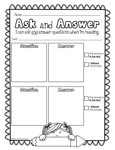 1000+ images about Reading Response Ideas on Pinterest | Reading ...