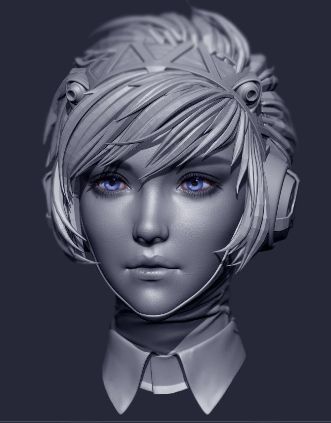 ArtStation - Aigis, Blair Armitage