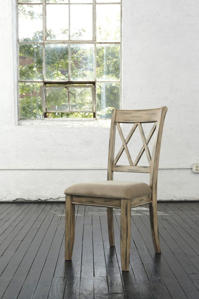 ... UPH Side Chair (Set Of By Signature Design By Ashley. Get Your Mestler    Antique White Dining UPH Side Chair (Set Of At Furniture Barn (Roberts),  St.