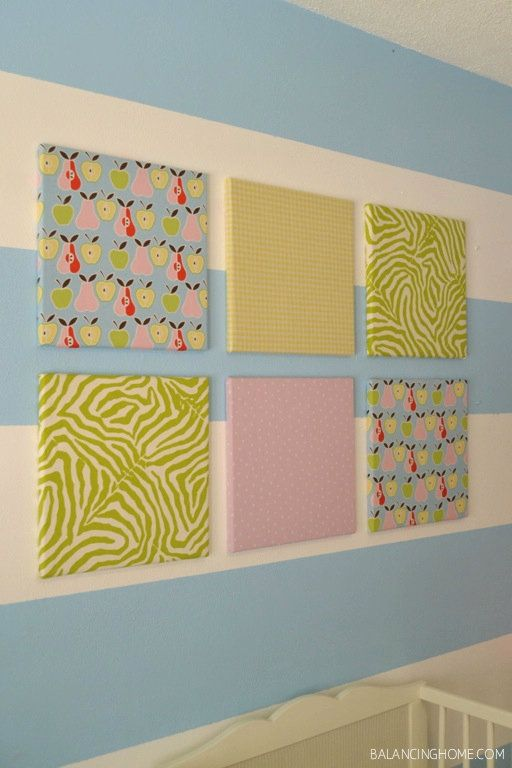 Fabric covererd cork board