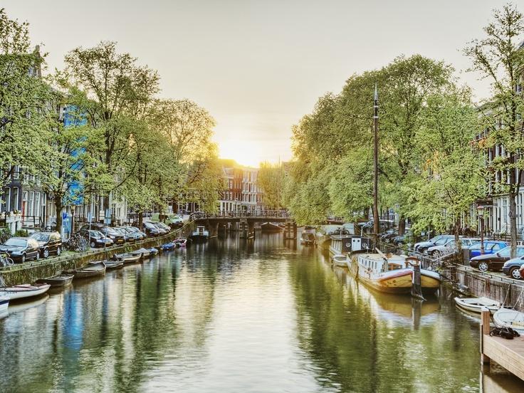 Canal at Sunrise, #Venice, #Italy