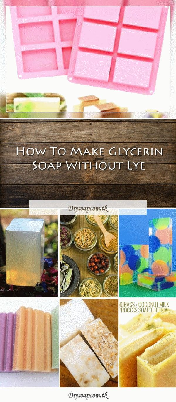 Make herbal soap without lye {+ recipe}DIY soap without
