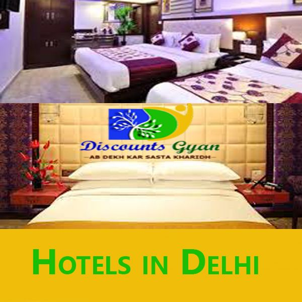 Best Online Budget Hotels in Delhi with Discounted Rates on Discounts Gyan.