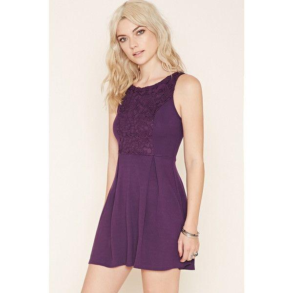Long purple dress forever 21