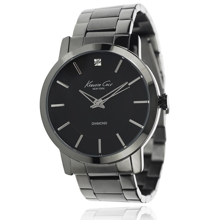 Kenneth Cole Men's Stainless Steel Link Watch - Overstock™ Shopping - Big Discounts on Kenneth Cole Kenneth Cole Men's Watches