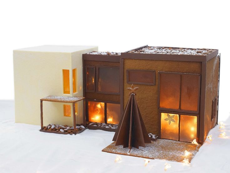 Modern gingerbread house!