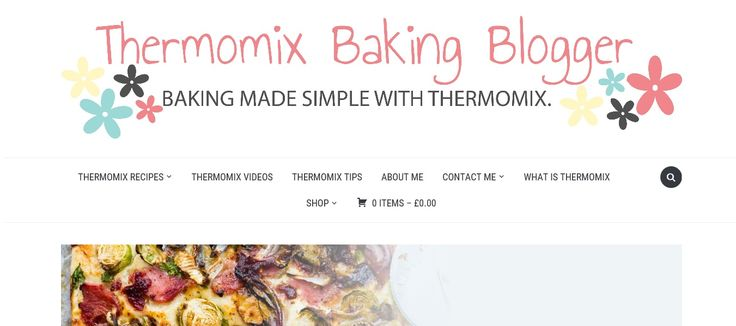Thermomix Baking Blogger