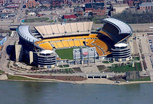 Heinz Field - Aerial - Pittsburgh Steelers