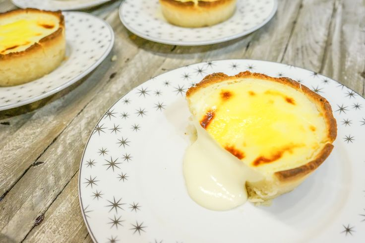 People line up for hours at Pablo's and Uncle Tetsu's just to get their hands on these lava cheese tarts. Why wait in line when you can make your own?!