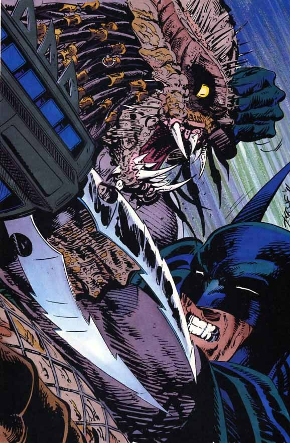 batman vs predator comic