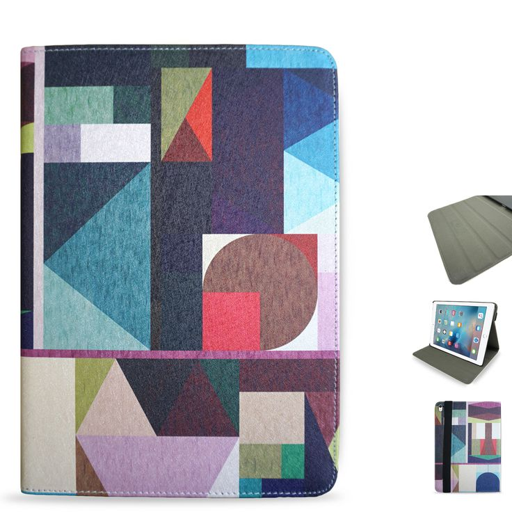 Protect your iPad Pro 9.7 in style with this stylish folio case featuring the popular artwork ?Kaku? by Fimbis.