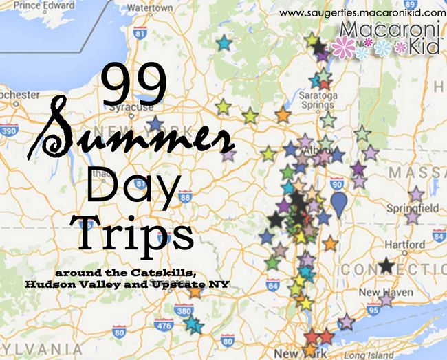 Day Trips from the Hudson Valley, Catskills and Upstate NY. We have put together 99 Day Trips for you to explore with the whole family, all summer long! From Lakes, Caves, Museums, and State Parks, this list will keep you busy before school starts. Don't miss the interactive map at the end of the article, to easily find directions. Parental discretion is advised, as some places are better suited for older children.