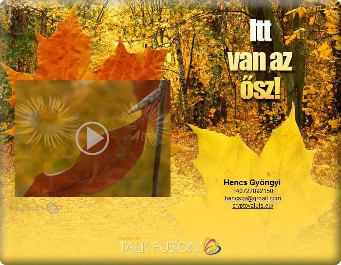 Video Email : Itt van az ősz
