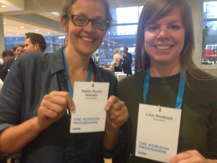 Learning partners: Mette & Linn