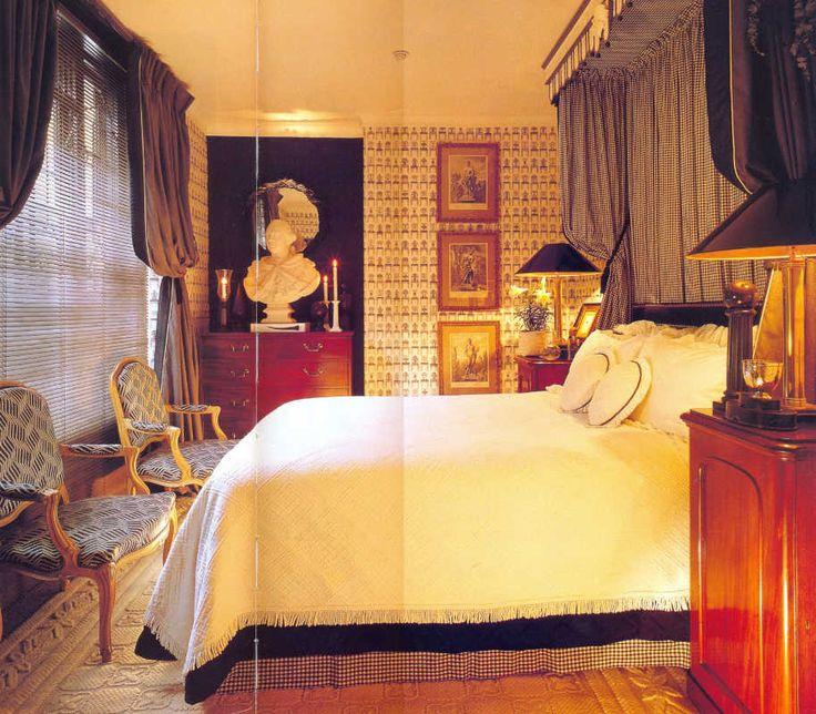 Дизайн интерьера мужской спальни для квартиры или загородного дома