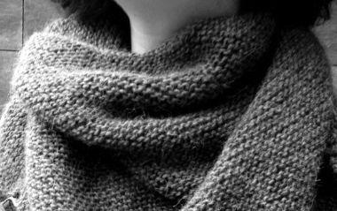 #DIY Trendy Châle #knit