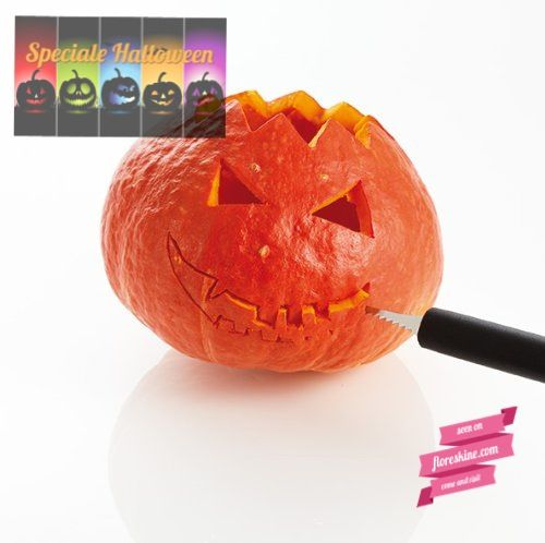 http://www.floreskine.com/come-intagliare-zucca-di-halloween/ Set per intaglio zucca - Carving set for pumpkin