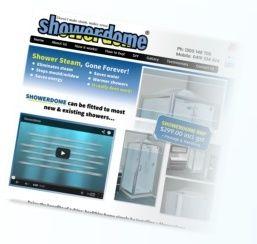 Showerdome website designed by Tattwa Networks