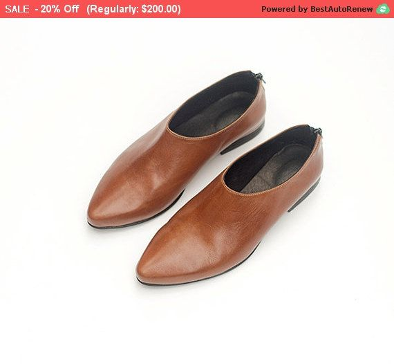 Hey, I found this really awesome Etsy listing at https://www.etsy.com/listing/253724542/brown-leather-shoes-women-leather
