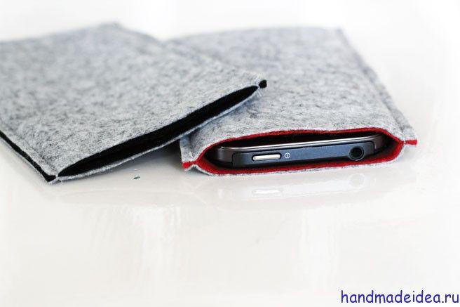 Как сшить чехол для телефона своими руками - Идеи хендмейда